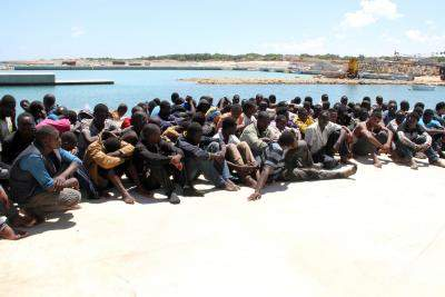 Over 2,000 migrants reach Mediterranean island by boat