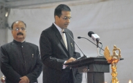 Justice Chandrachud lauds President's vast experience in law