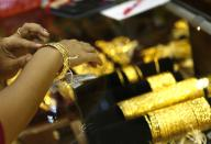 Gold at over 1 month high on inflation fears