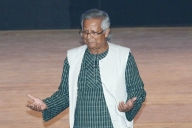 Nobel Peace laureate Yunus urges new approach to hunger, conflict