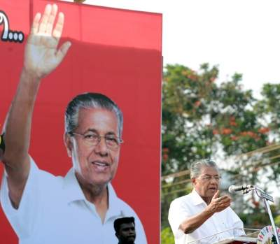 LDF may win Kerala assembly polls with 87 seats