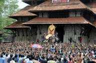 54-year-old tusker opens Thrissur Pooram fest in Kerala