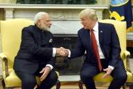 Will Trump do Namaste or shake hands with Modi?