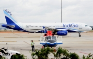 IndiGo's Board meet to continue; Q1 net profit rises to Rs 1,203 cr (Lead)