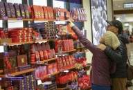 Opening chocolate packaging at home may put you at risk