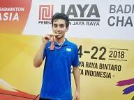 Lakshya Sen wins maiden BWF World Tour title
