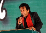Imran Khan travels to US to 'reset' bilateral ties (Lead)
