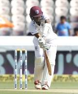 Eng vs WI 1st Test, Day 3: Brathwaite fifty hands visitors edge (Lunch)