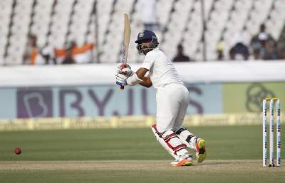 Rahane 50 helps India to 134/4 at tea against WI