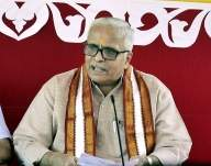 Triumph of national forces: RSS on BJP poll victory (Lead)