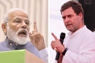 Barring 3 states, Modi has high ratings compared to Rahul