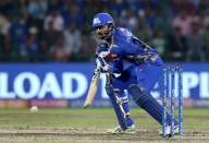 Pandya brothers take MI to 168/5 against DC