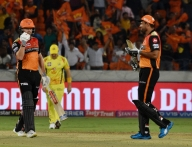 Bairstow, Warner star as SRH rout CSK in Hyderabad