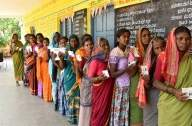 69% average voting in Karnataka's 2 Assembly by-polls (5:00 p.m) (Second Lead)