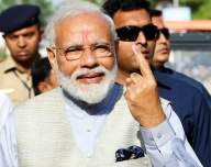 NDA projected to win 22 seats in Gujarat: IANS-CVOTER exit poll
