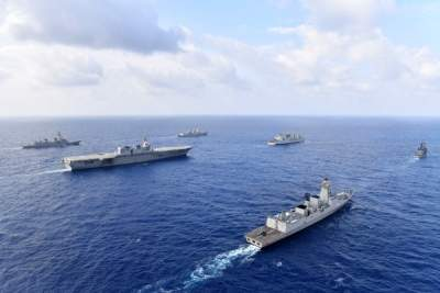 Indian Navy task force in South China Sea, Western Pacific for 2 months (Lead)