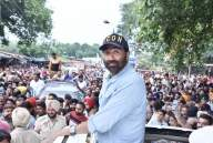 Sunny Deol visits polling stations in Gurdaspur