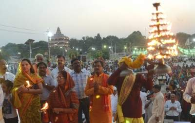 'Ganga aarti' trial in Kanpur on Nov 27