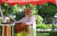 Indian democracy strengthened by poll verdict: Modi (Lead)