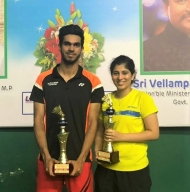Meghana makes it to women's and mixed doubles semis at Russian Open