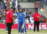 Rohit smashes ton, breaks 23-yr old record with Rahul (2nd Lead)