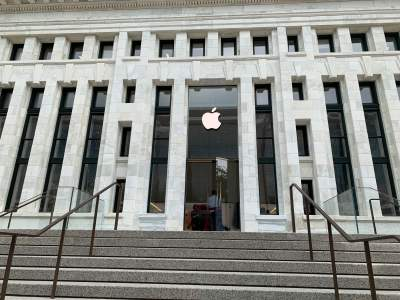 When tech met history: Apple at iconic Carnegie Library in W...