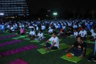 Abu Dhabi celebrates International Yoga Day (Lead)