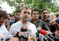 BJP trying to suppress democracy, says Rahul Gandhi