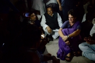 Priyanka detained in UP, refuses to fill bail bond (Night Lead)