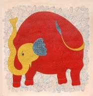 Gond artist exhibits tribal motifs in Delhi show