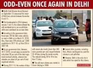 Pollution dipped in last 3 years, still Delhi to have odd-even scheme
