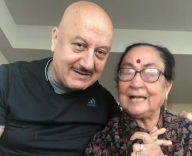 PM Modi 'touched' by Anupam Kher's mother's wish on b'day