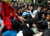JU row: Students, political activists hit the streets