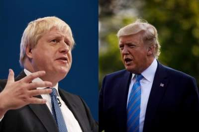 Trump offers help to treat ailing UK PM