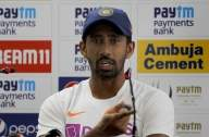 Ranchi Test: Saha replaced by Pant after 'keeper takes knock