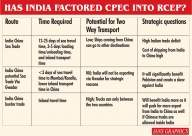 Worrying distanomics: Has India factored CPEC into RCEP? (Comment)