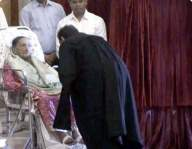 CJI touches mother's feet after swearing-in, earns praise