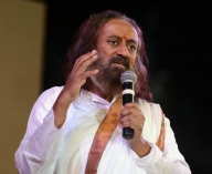 Young scientists interact with Sri Sri Ravi Shankar