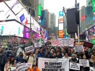 Indian-Americans protest against CAA, NRC, NPR on R-Day