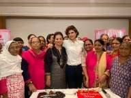 Tahira Kashyap's b'day bash with breast cancer survivors