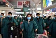 China coronavirus toll reaches 80, 2,744 infected (Lead)