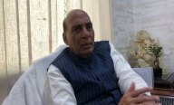 Rajnath: I pray for early release of Abdullahs & Mehbooba from detention (IANS Exclusive)