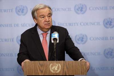 Covid-19: Guterres warns terrorists may take advantage of pa...