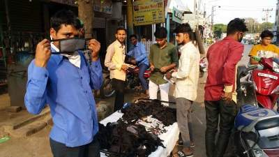 Telangana issues orders for Rs 1,000 penalty on not wearing mask