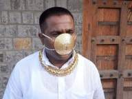 Meet the Pune man with the 'golden mask'