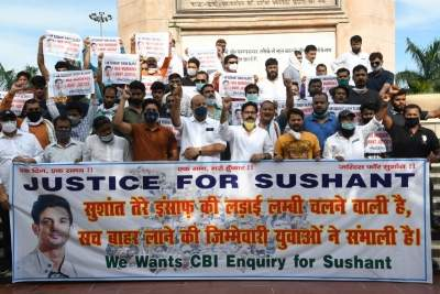 Chorus grows for CBI inquiry into Sushant's death