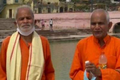 Brothers bring water from 151 rivers, 3 seas for 'bhumi puja...