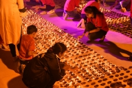 Light-and-sound show at Ram Katha park in Ayodhya