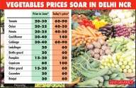 Skyrocketing veggie, fruit prices may not come down soon