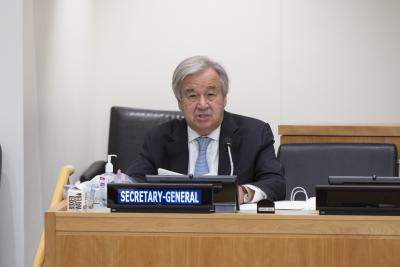 Guterres hopes dialogue can dial down Sino-Indian border tensions